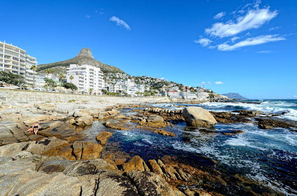 Bantry Bay in Cape Town.