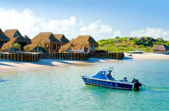 Dugong Beach Lodge in Mozambique.