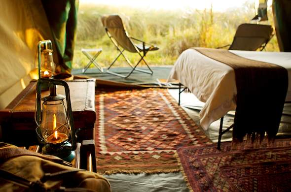 Eco-friendly Okavango Delta accommodation.