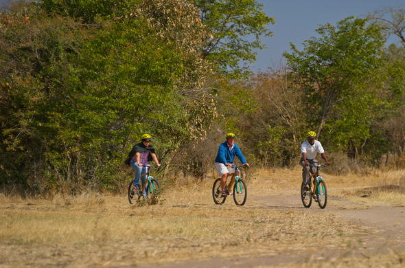 Bike safaris in Livingstone.