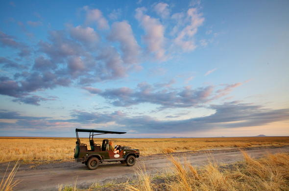 Game drives through Katavi National Park.