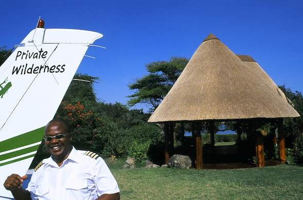 Private air transfers to Rusinga Island Lodge.