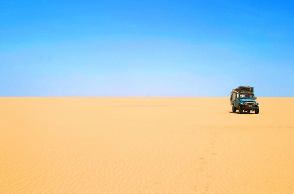 Just you and the Namib Desert on you self-drive adventure