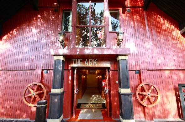 Entrance to The Ark.